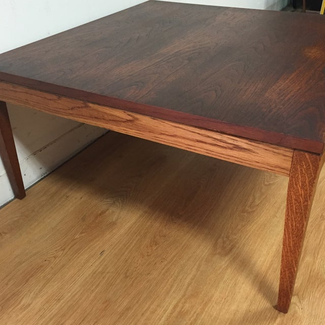 Mid-Century Modern Square Coffee Table - Image 10 of 11
