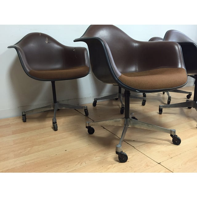 Image of Eames Shell Chairs for Herman Miller - Set of 5