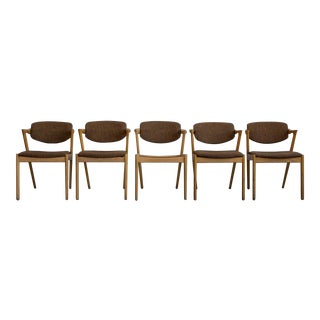 Kai Kristiansen Model #42 Dining Chairs - Set of 6