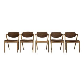 Kai Kristiansen Model #42 Dining Chairs - Set of 6