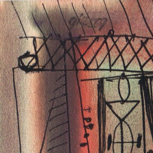 Robert Gilberg Vintage Dynamic Abstract - Image 6 of 7