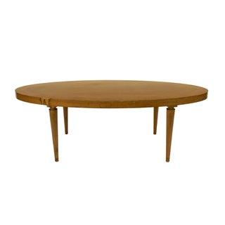 T.H. Robsjohn-Gibbings Oval Coffee Table