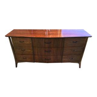 Mid-Century Floating 9-Drawer Dresser