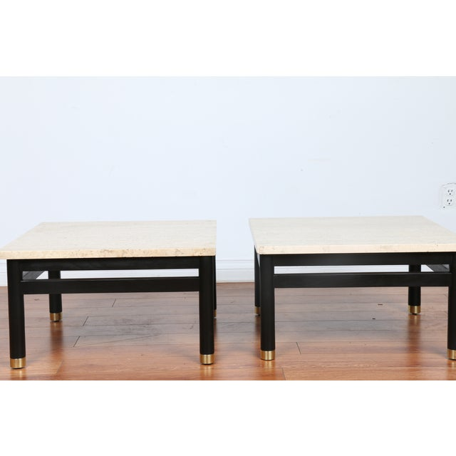 Lacquered Side Tables - A Pair - Image 4 of 11