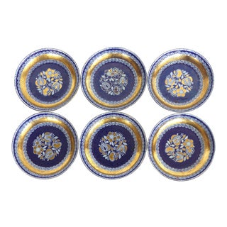 Steinbock Enamel on Copper Coasters - Set of 6