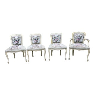 French Provincial Chairs - Set of 4