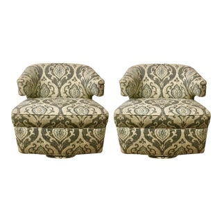 BSC Julie Swivel Chairs - A Pair