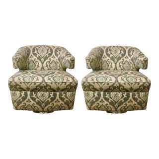 BSC Julie Swivel Chairs - A Pair