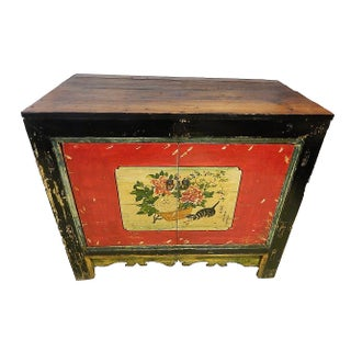 Mongolian Painted Chest