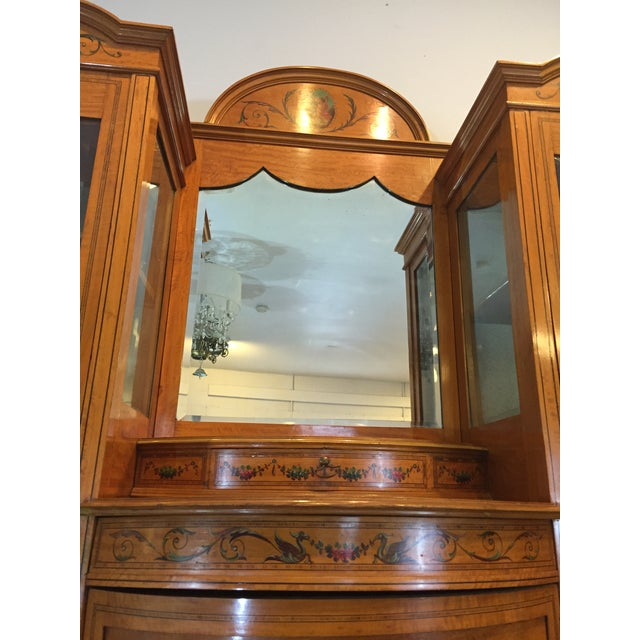 Antique European Display Hutch - Image 7 of 11