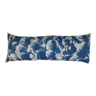 """Face in the Crowd"" Photorealism Pillow"