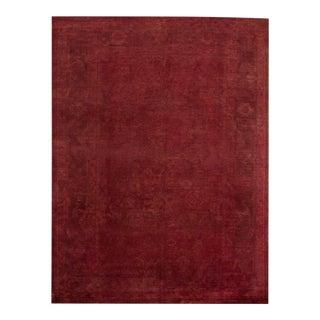 Apadana Red Over-Dyed Rug - 8′10″ × 11′10″