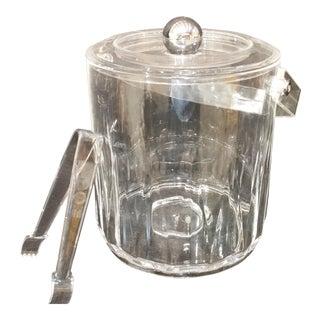 Mid-Century Lucite Ice Bucket