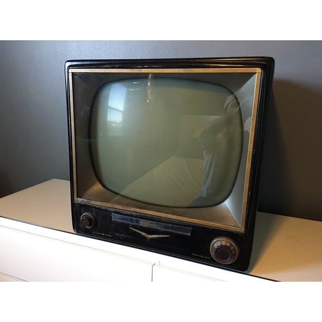 1950s Rca Television in Rare Black Metal Case - Image 5 of 8