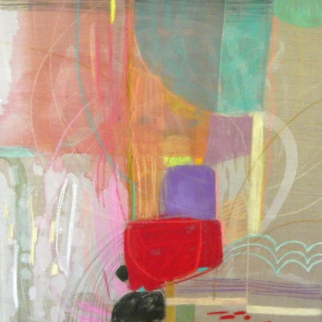 Turn and Slide on Raw Linen by Michelle Armas - Image 3 of 4