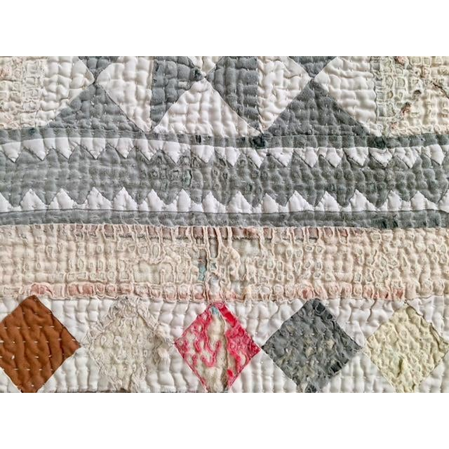 Vintage Handmade Ralli Quilt - Image 5 of 11