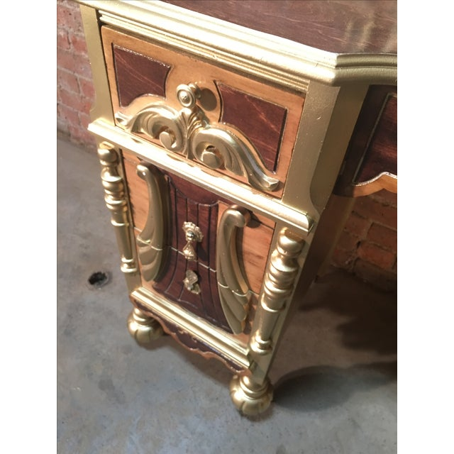1920s Art Deco Vanity Table with Seat - Image 4 of 10