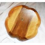 Image of Vintage Monkey Pod Wood Party Platter