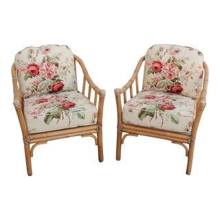 McGuire Lounge Chairs - A Pair