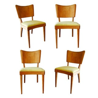 "Vintage Heywood Wakefield ""Stingray"" Dining Side Chairs - Set of 4"