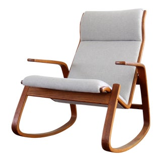Westnofa Danish Modern Rocking Chair