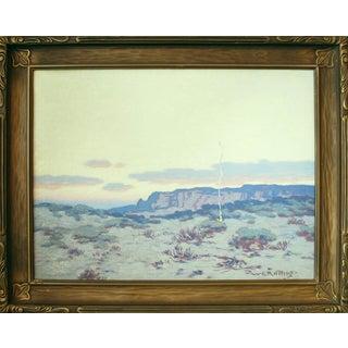 """The Desert, Twilight"" by Warren E. Rollins"