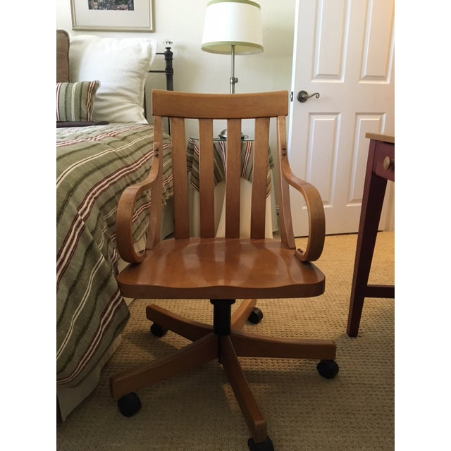 Ethan Allen Country Colors Desk Chair Chairish