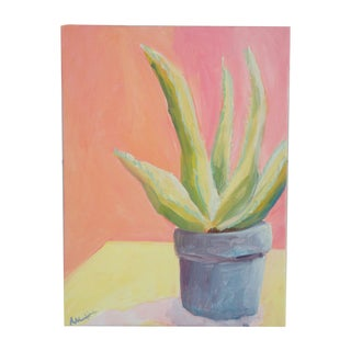 Alice Houston Summer Aloe Painting