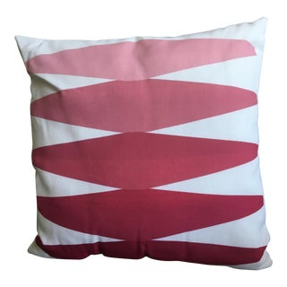 Red Graphic Pillows - Set of 2