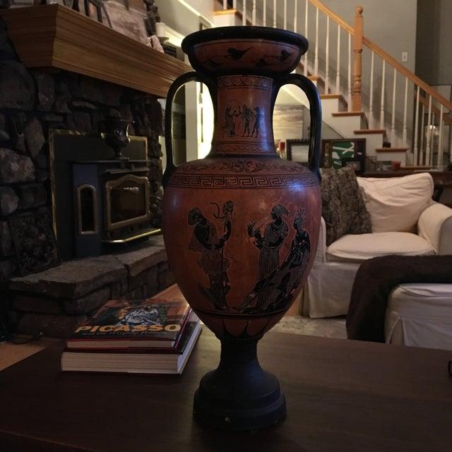 Image of Greek Double Handle Vase
