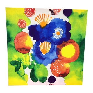 Textile Stretched Water Color by Marimekko