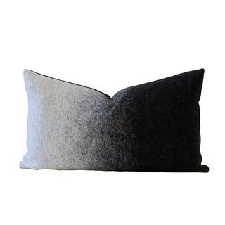 Grigio Black & Gray Designer Down Pillow