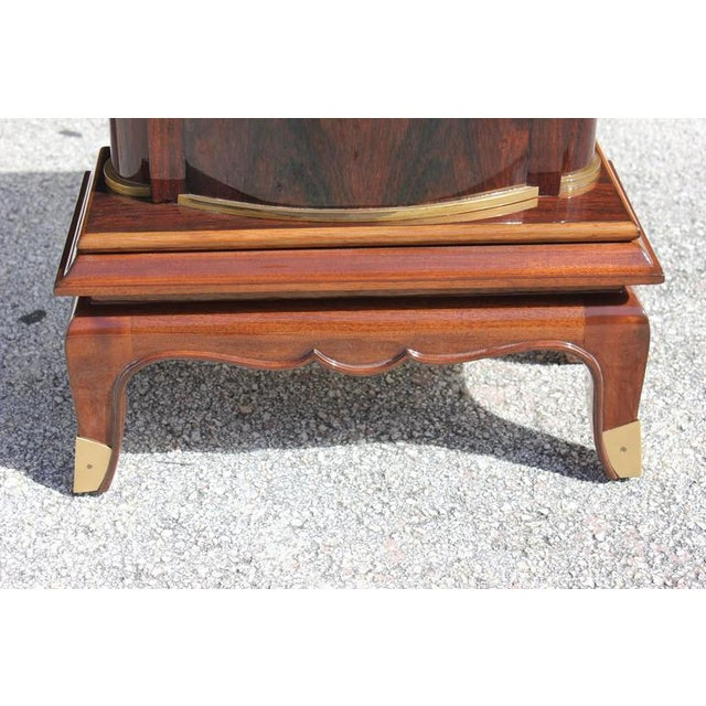 Jules Leleu French Art Deco Palisander Console Tables - A Pair - Image 6 of 10