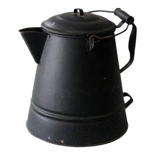 Vintage Sarreid Ltd Tin Hot Water Pot