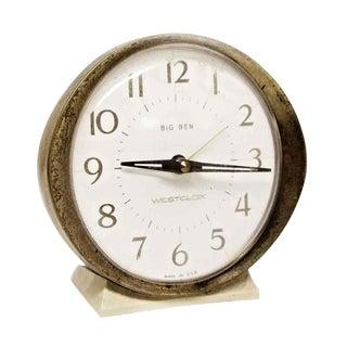 Westclox Big Ben Plastic & Brass Alarm Clock