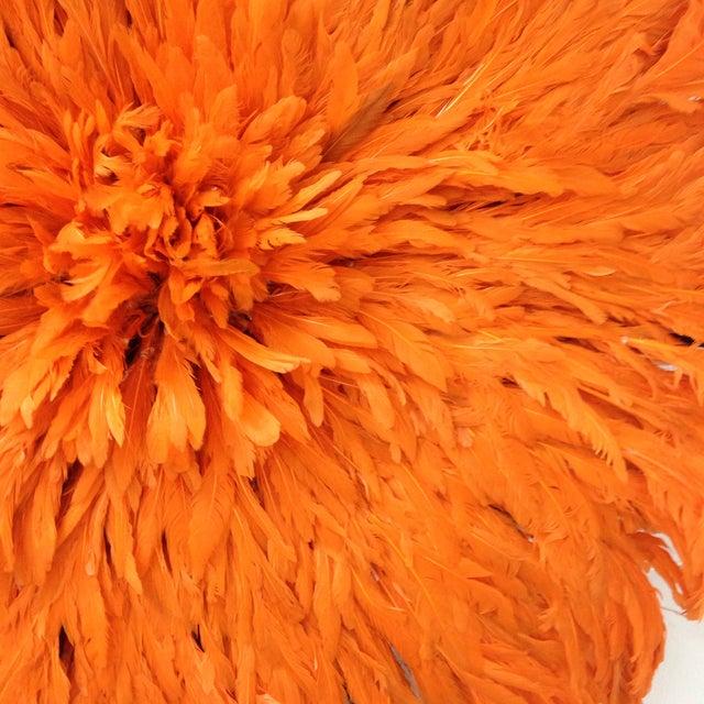 Authentic Tangerine Cameroon Juju Hat - Image 4 of 4