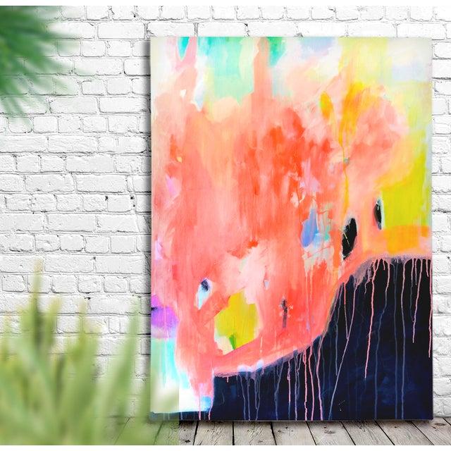 "Eva Alessandria ""The Storm"" Original Painting - Image 2 of 4"
