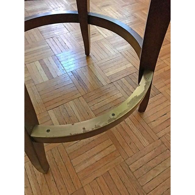 Image of Woodbridge Furniture Armless Bar Stool