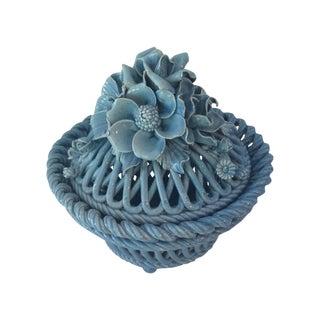 Blue Italian Potpourri Covered Dish