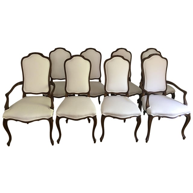 Karges French Style Dining Room Chairs - Set of 8 - Image 1 of 5