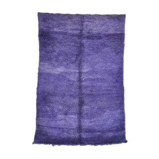 "Vintage Beni M'Guild Moroccan Rug, 6'4"" x 9'8"" feet"
