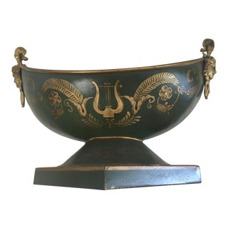 French Neoclassical Tole Compote