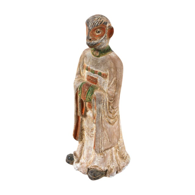 19th C. Chinese Monkey Zodiac Figurine - Image 1 of 9