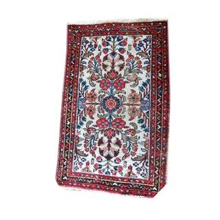 "Vintage Persian Bohemian Rug - 1'10"" x 3'1"""