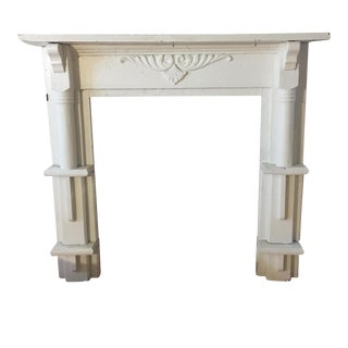 Architectural Shabby Chic Mantel