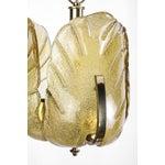 Image of Kalmar for Orrefors Mid-Century Brass Pendant