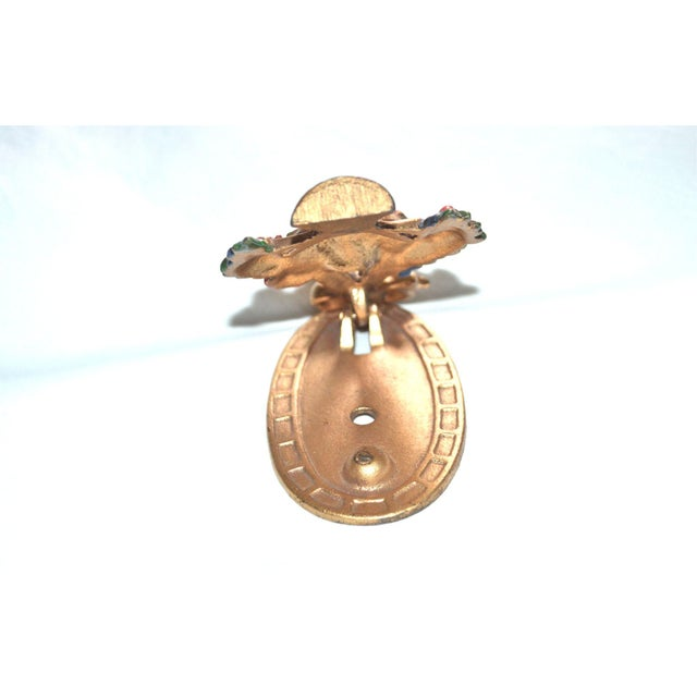 Image of Hubley Flower Basket Door Knocker