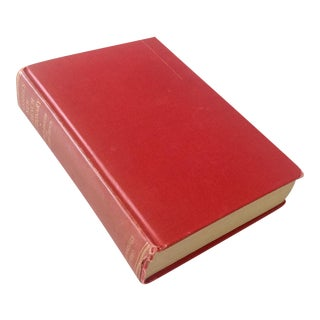 Red 1930s French Dictionary