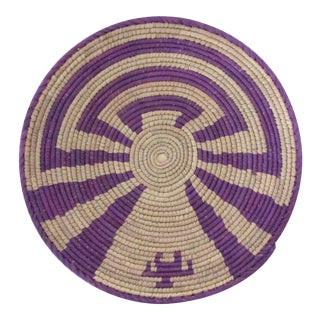 Purple Swirl Pattern Basket