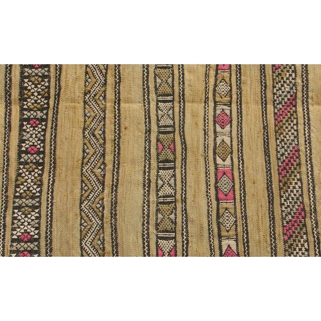 "Maroc Tribal Rug: Moroccan Berber Tribal Kilim Rug - 2' 5"" X 4' 1"""